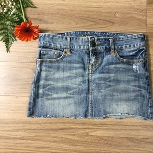 American Eagle Jeans mini skirt size 2